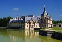 Chateau de Chantilly vicino a Parigi Fotografie Stock Libere da Diritti