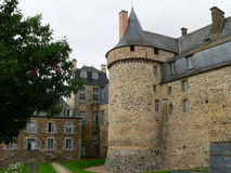 Chateau de Chateuagiron ( France ) Royalty Free Stock Photography