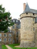 Chateau de Chateuagiron ( France ) Stock Photography