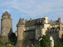 Chateau DE Chateuagirons (Frankrijk) Royalty-vrije Stock Afbeelding