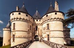 Chateau de Chaumont-sur-Loire, castle in France Royalty Free Stock Photography