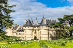 Chateau de Chaumont-sur-Loire, a castle in the Loire Valley of France Stock Photos