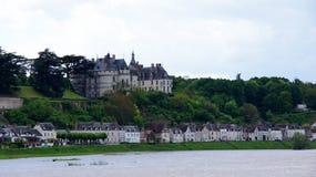 Chateau de Chaumont sur Loire Stock Photos
