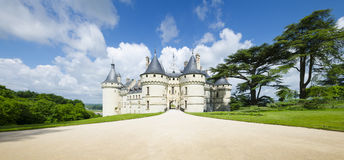 Chateau de Chaumont-sur-Loire, France. Royalty Free Stock Photography