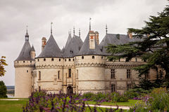 Chateau de Chaumont-sur-Loire, France, castle is located in the Royalty Free Stock Photo