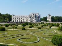 Chateau de Chenonceau, Γαλλία στοκ εικόνες