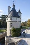 Chateau de Chenonceau Stockfotos