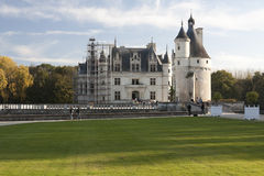 Chateau de Chenonceau Royalty Free Stock Photos