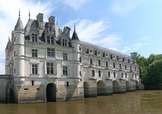 The Chateau de Chenonceau Stock Photography