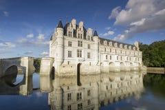 Chateau de Chenonceau. Loire Valley castle near the village of Chenonceaux, France royalty free stock photo
