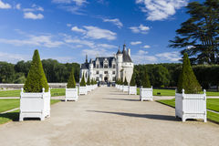 Chateau de Chenonceau Royalty Free Stock Photo