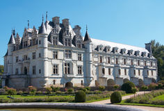Chateau de Chenonceau Stock Photography