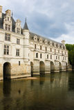 The Chateau de Chenonceau. Chenonceaux. France Royalty Free Stock Photos