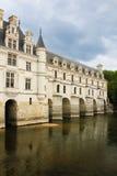 The Chateau de Chenonceau. Chenonceaux. France royalty free stock photos