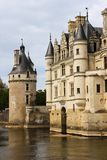 The Chateau de Chenonceau. Chenonceaux. France. Chenonceau medieval keep and palace and gardens. Chenonceaux. France Stock Photos