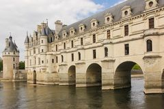 The Chateau de Chenonceau. Chenonceaux. France Stock Photo