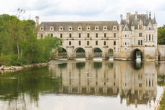 The Chateau de Chenonceau. Chenonceaux. France Stock Photography