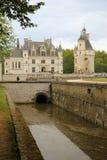 The Chateau de Chenonceau. Chenonceaux. France Stock Images