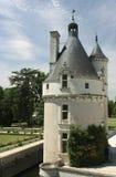 Chateau DE Chenonceau. De Loire. Stock Afbeeldingen