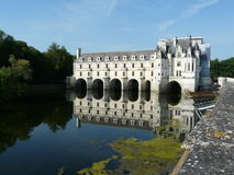 Chateau de Chenonceau, France Royalty Free Stock Photos