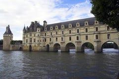 Chateau de Chenonceau, France Images libres de droits