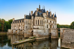 The Chateau de Chenonceau, France. Stock Photography