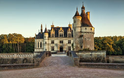 The Chateau de Chenonceau. France. Chateau of the Loire Valley Stock Images