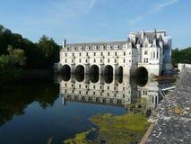Chateau de Chenonceau, Francia Fotos de archivo libres de regalías