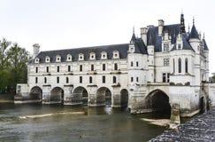 Chateau DE Chenonceau, Frankrijk Stock Fotografie