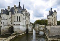 Chateau DE Chenonceau, Frankrijk Royalty-vrije Stock Afbeelding