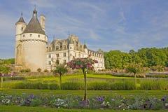 Chateau de Chenonceau i Frankrike arkivfoto