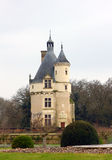 Chateau de Chenonceau in Loire France Stock Photo