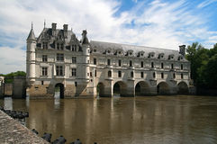 The Chateau de Chenonceau. Loire Valley Royalty Free Stock Image