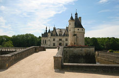 The Chateau de Chenonceau. Loire Valley Stock Images