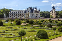 Chateau de Chenonceau- Loire Valley - France. Royalty Free Stock Images