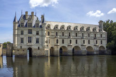 Chateau de Chenonceau- Loire Valley - France. Royalty Free Stock Photo