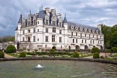 Chateau de Chenonceau, Loire Valley, France Stock Images