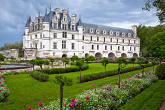 Chateau de Chenonceau, Loire Valley, France Stock Image