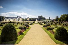 Chateau de Chenonceau, Loire Valley, France stock photo