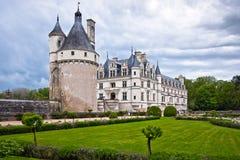Chateau de Chenonceau, Loire Valley, Francia Immagine Stock Libera da Diritti