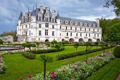 Chateau de Chenonceau, Loire Valley, Francia imagen de archivo