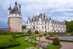 Chateau de Chenonceau, Loire Valley, Frankrike Arkivbild