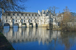 Chateau de Chenonceau Stock Photo