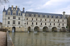 Chateau de Chenonceau Royalty Free Stock Photo