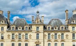 Chateau de Cheverny, ένα από τα κάστρα κοιλάδων της Loire στη Γαλλία Στοκ φωτογραφία με δικαίωμα ελεύθερης χρήσης