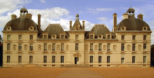 Chateau de Cheverny. Located in Cheverny, France Stock Images