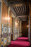 Chateau de Cheverny. Detail of the interior of the chateau. Chateau de Cheverny, Loire Valley, France stock photography