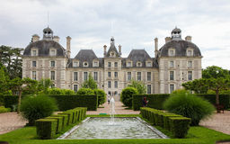 Chateau de Cheverny Stock Image