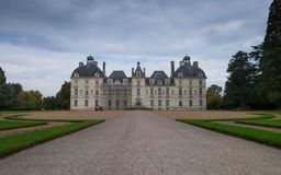 Chateau de Cheverny, Loire Valley, Francia Fotografia Stock Libera da Diritti