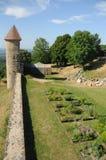 Chateau De Chevreaux. The chateau de chevreaux is situated in the french village of Chevreaux, located in the Jura region (Franche-Comté) in France. A local Stock Images